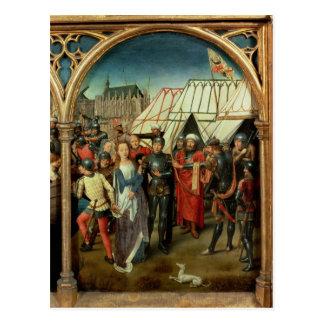 El relicario de Santa Ursula, 1489 Tarjeta Postal
