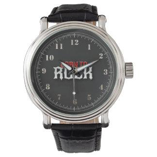 el relógio supera la roca relojes de mano