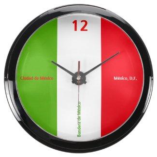 El Reloj - Bandera de México - México, D.F. Fish Tank Clocks