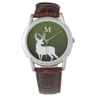 El reloj blanco de los hombres verdes del