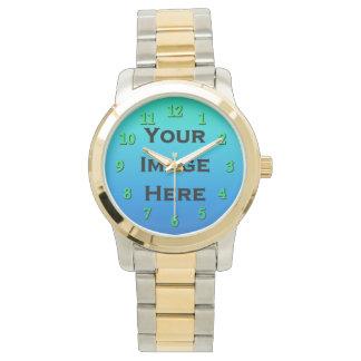 El reloj de encargo con verde lima numera el 40%