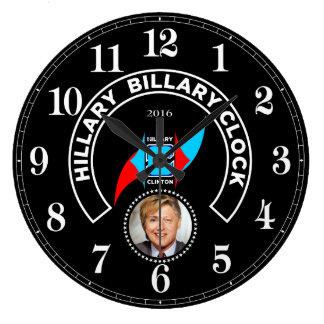 El reloj de Hillary Billary tiene gusto del muelle