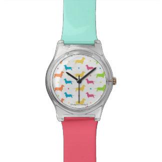 El reloj de las mujeres del Dachshund - la gama en