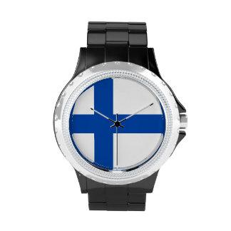El reloj de las mujeres finlandesas - Suomen Lippu