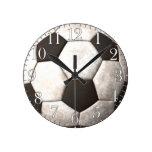 El reloj de los Deporte-amantes del balón de fútbo