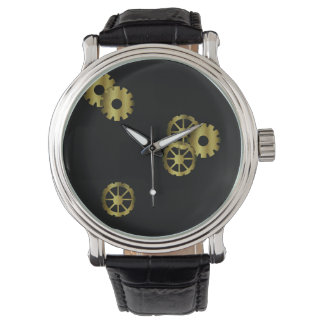 El reloj de los hombres del mecanismo de Steampunk
