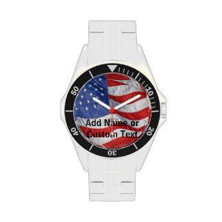 El reloj de los hombres personalizados de la bande