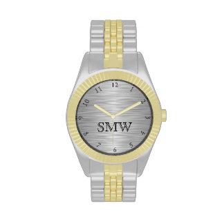 El reloj de los hombres personalizados del