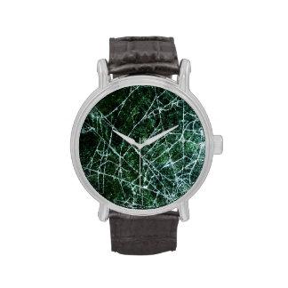El reloj de Mwn con el Web de araña