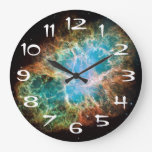 El reloj de pared de la nebulosa de cangrejo