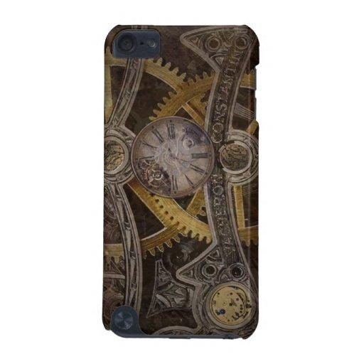 El reloj de Steampunk adapta iPhone