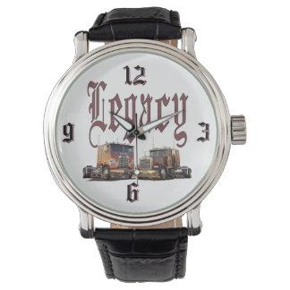 El reloj del camionero de la herencia