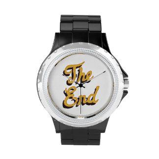 El reloj del extremo