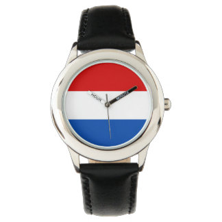 El reloj del niño de Holanda - la bandera