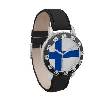 El reloj del niño finlandés - Suomen Lippu Kello