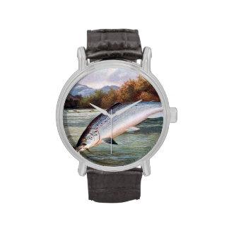 El reloj del pescador - salmón