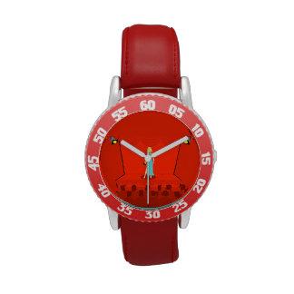 El reloj del premio del niño retro de la