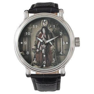El reloj del vampiro de la custodia