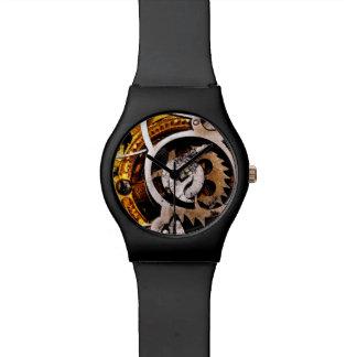 El reloj del vintage adapta la máquina punky de St