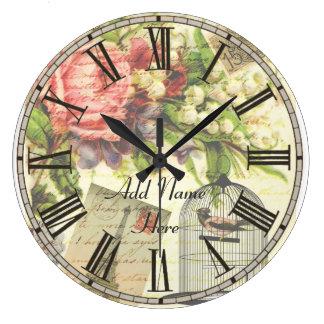 El reloj elegante lamentable de la cocina de París