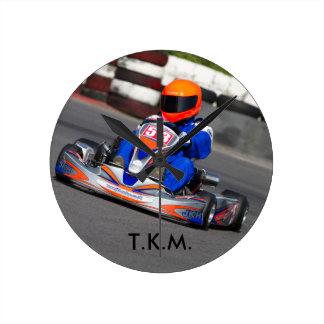 El reloj karting 100CC del TKM va kart