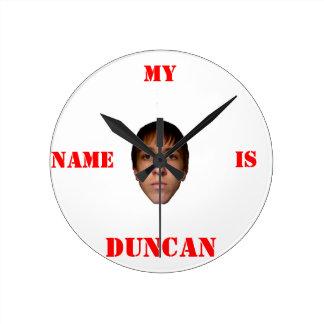 El reloj, mi nombre es Duncan