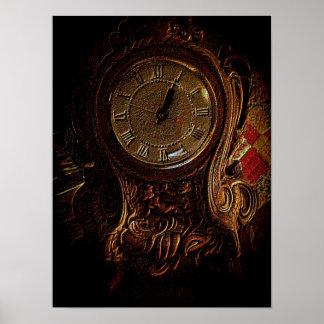 El reloj póster