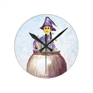 El reloj redondo del mago Persnickety