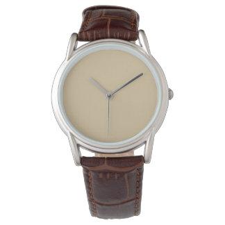 El reloj W06B de los hombres del modelo del fondo