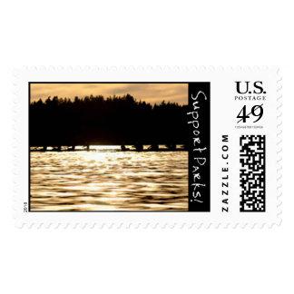 El remar timbres postales