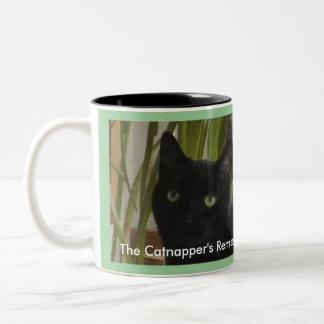 ¡El remedio del Catnapper! Taza De Café
