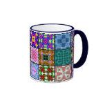 El remiendo ajusta la taza