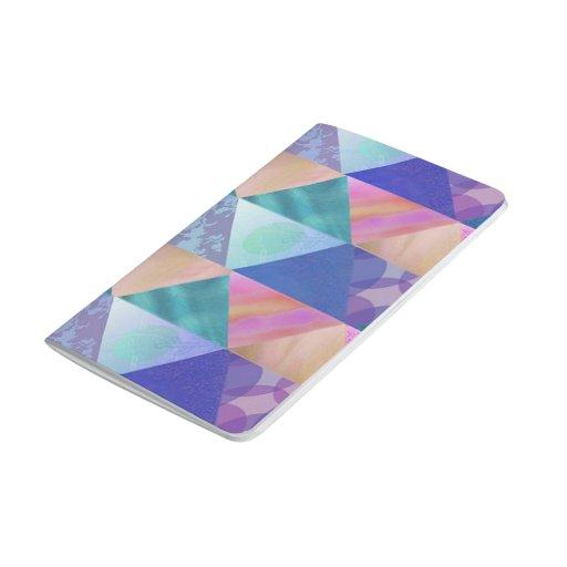 El remiendo colorea el diario del bolsillo cuadernos