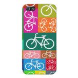El remiendo monta en bicicleta arte iPhone 5 cárcasa