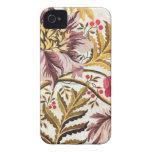 El remolinar floral iPhone 4 Case-Mate protectores