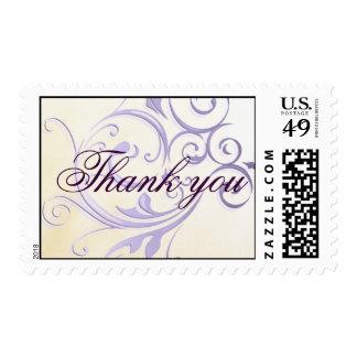 El remolino púrpura le agradece sellar sello