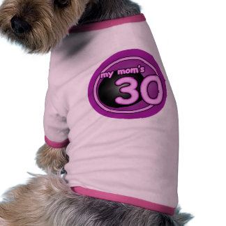 El remolino rosado de mi mamá 30 camisetas mascota