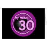 El remolino rosado de mi mamá 30 tarjeton