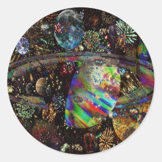 El renacimiento de Venus 2859a Pegatina Redonda
