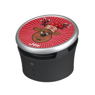 El reno de Papá Noel de encargo Altavoz Bluetooth