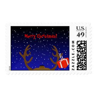 El reno de Santa con un actual sello