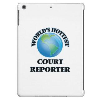 El reportero de la corte más caliente del mundo