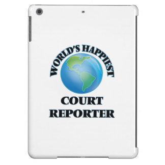 El reportero de la corte más feliz del mundo funda para iPad air