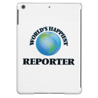 El reportero más feliz del mundo funda para iPad air