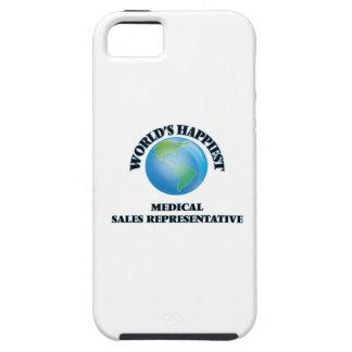 El representante de las ventas médico más feliz iPhone 5 Case-Mate protectores