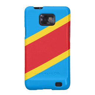 El República del Congo Democratic Samsung Galaxy SII Fundas