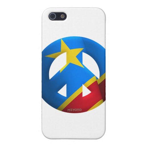 El República del Congo Democratic iPhone 5 Protectores