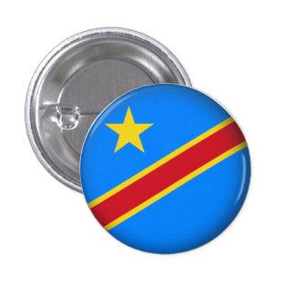 El República del Congo Democratic redondo Pin Redondo 2,5 Cm