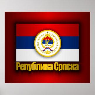 El República Serbia Poster