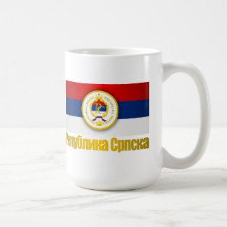El República Serbia Tazas De Café
